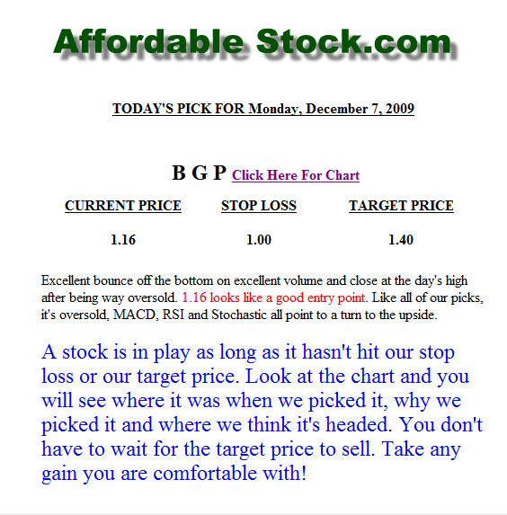 Best Penny Stock Picks & Market